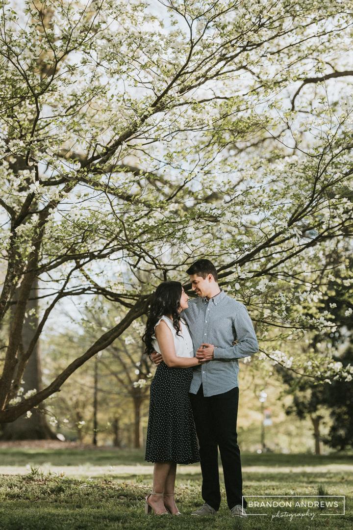 Sachin + Chetsi Engagement Piedmont Park - Brandon Andrews